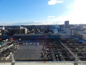 大成・正和特定共同企業体として現在施工している春日部市立病院です